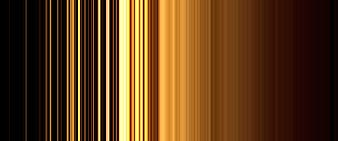 Brown and black striped illustration