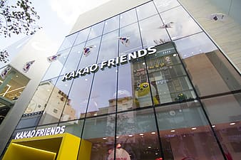 Kakao Friends building at daytime