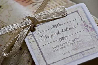 Congratulations This Special Gift Only Meant for you Love XXX