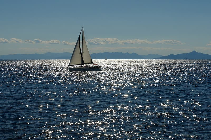 White and black boat sailing the sea during daytime