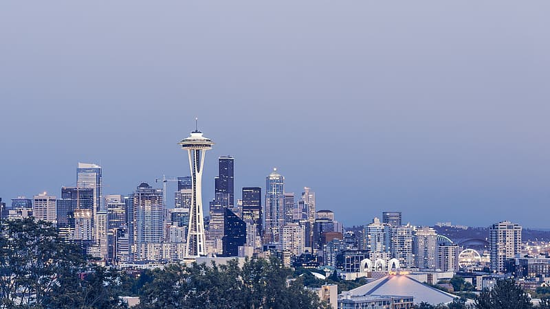 Space Needle at daytime