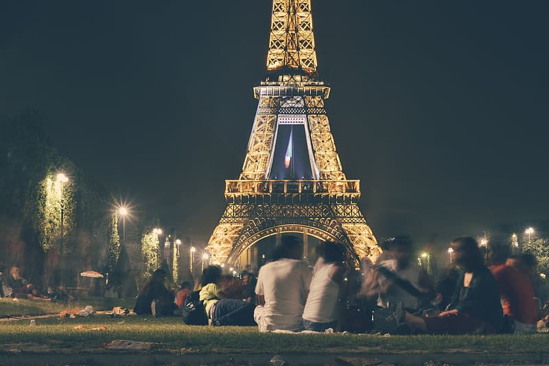 Low light photography of Eiffel Tower, Paris