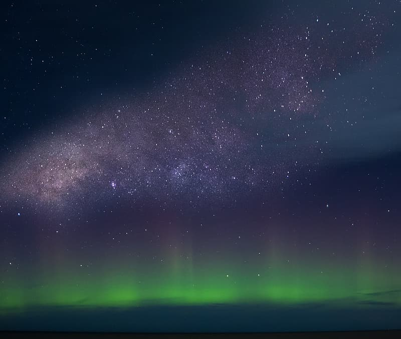 Ocean of stars in the sky during night time
