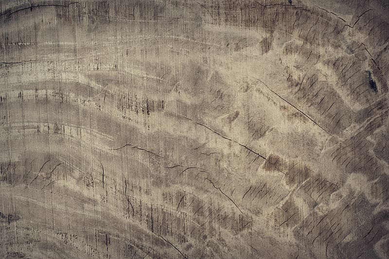 Brown and gray abstract painting