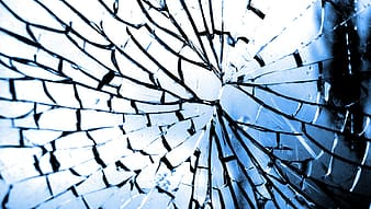Photo of broken glass