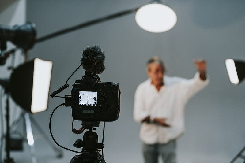 Image result for camera acting audition