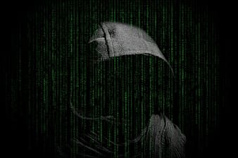 Person in gray hooded jacket wallpaper