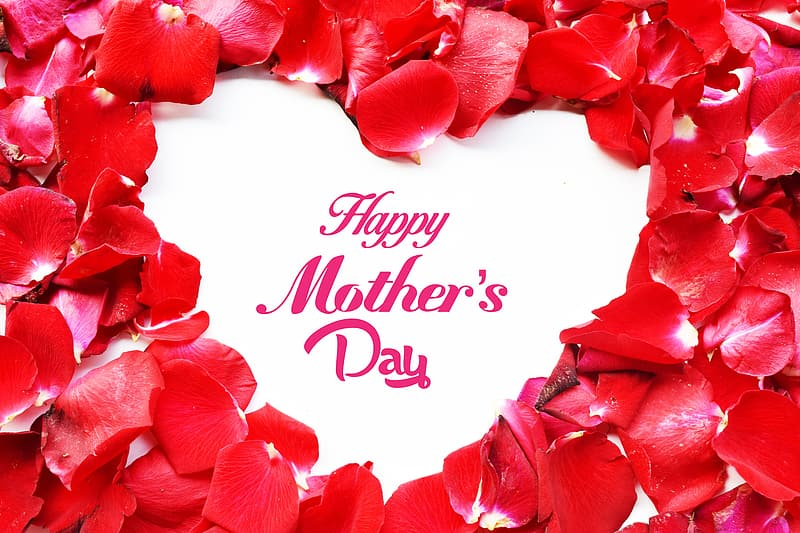 Happy Mother's Day text overlay
