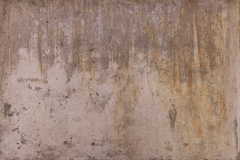 Untitled, concrete, concrete wall, background, weathered, spotty, dirty, pattern, texture, structure