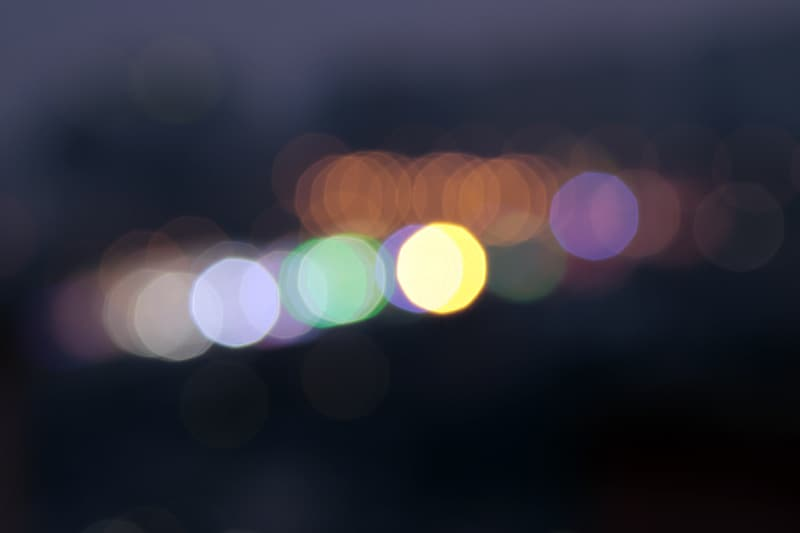 Untitled, bokeh, lights, blur, soft, background, night, abstract, shiny, effect