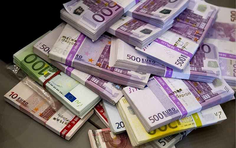 Pile of banknotes