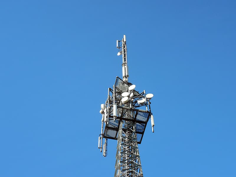 Gray cell tower