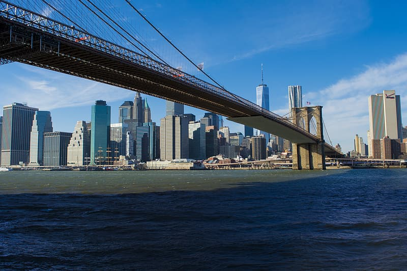 Brooklyn Bridge New York during daytime