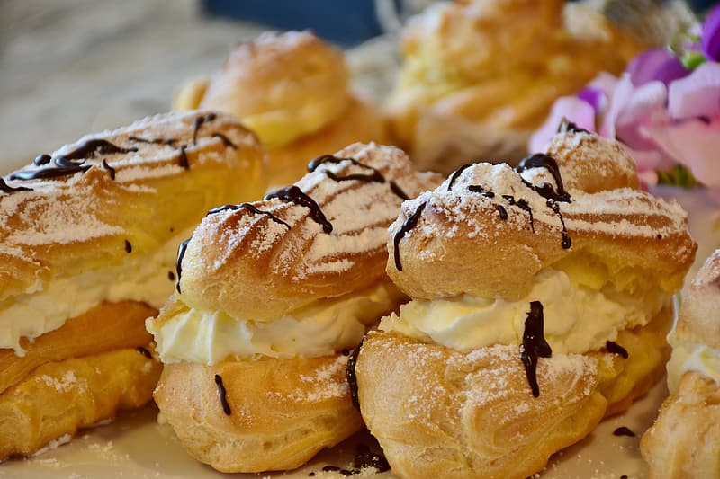 Cooked pastries