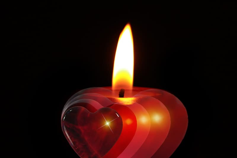 Closeup photography of candle