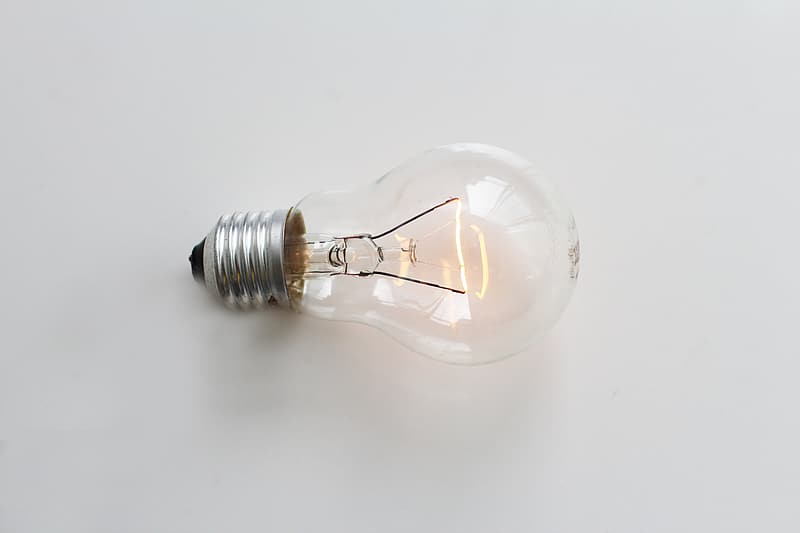 Clear halogen bulb