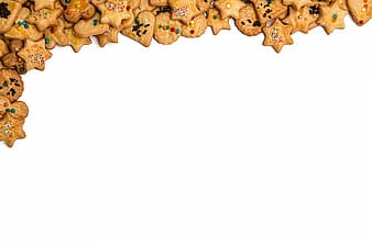 Cookies with toppings graphic wallpaper