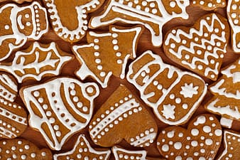 Ginger bread in different shapes