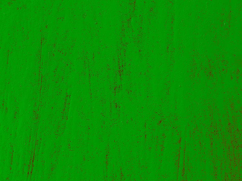 Green and black abstract painting