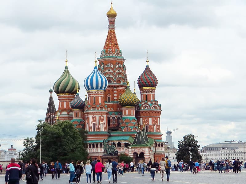 St.Basil's Cathedral Moscow,Russia