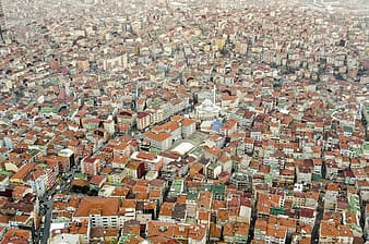Aerial photography of city buildings during daytime