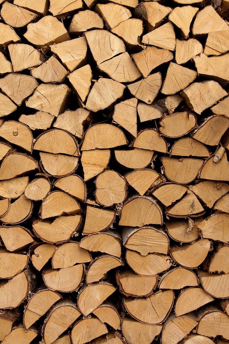 Closeup photography of pile of fire woods
