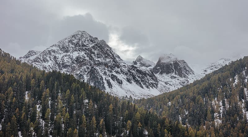 Snow Covered Mountain During Daytime Pikrepo