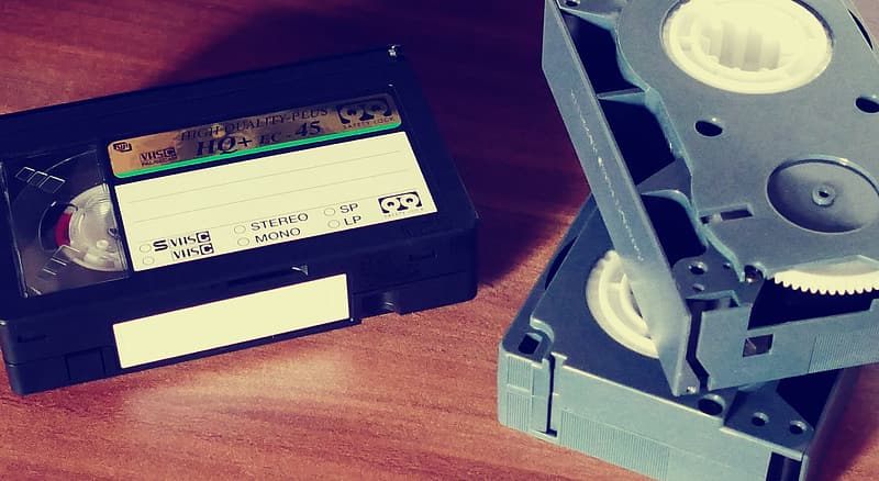 Three VHS tapes