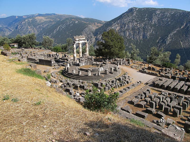 The Antique Temple, The Ruins Of The