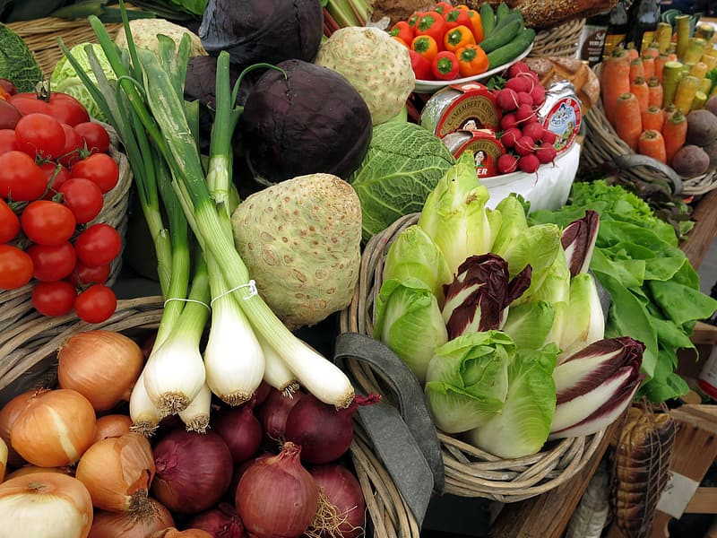 Assorted vegetable lot