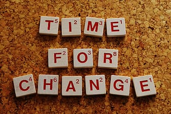 Time For Change block to