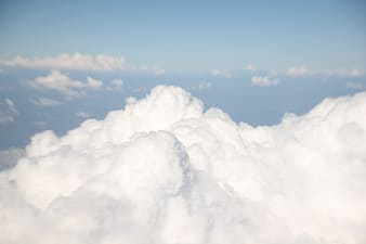 Photography of clouds and blue sky