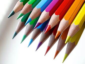 Seven assorted-color painting pens
