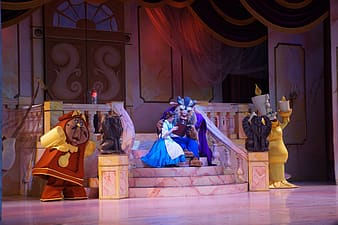 Beauty and the Beast theatrical still