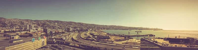 Valparaiso Panoramic, Valparaiso Port