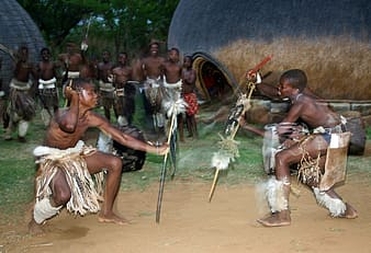 Tribe performing
