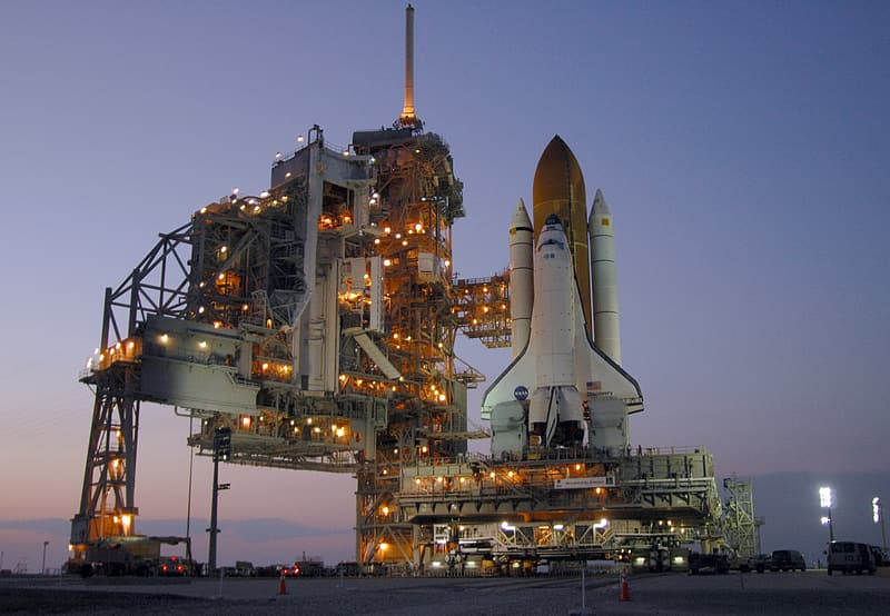 Space Shuttle Discovery, Launch Pad