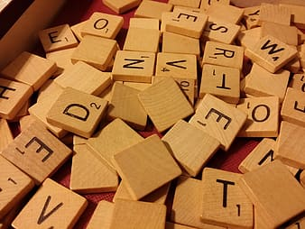 Scrabble tile lot