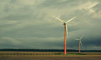 Photography of wind turbines