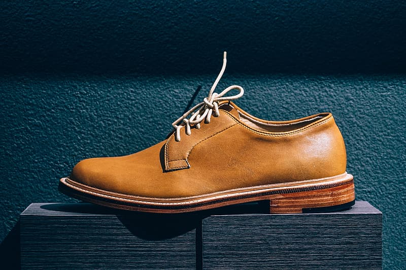 Mens fashion shoes in shop