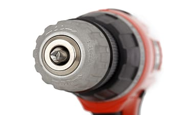 Red power drill
