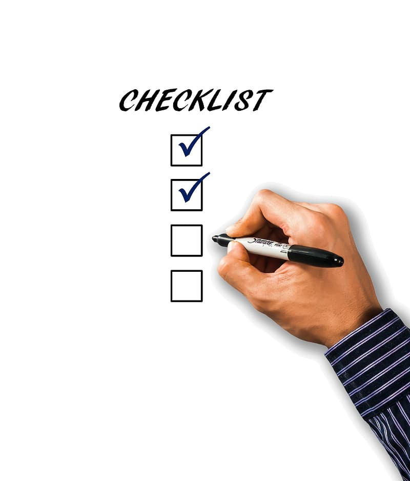 Checklist check box