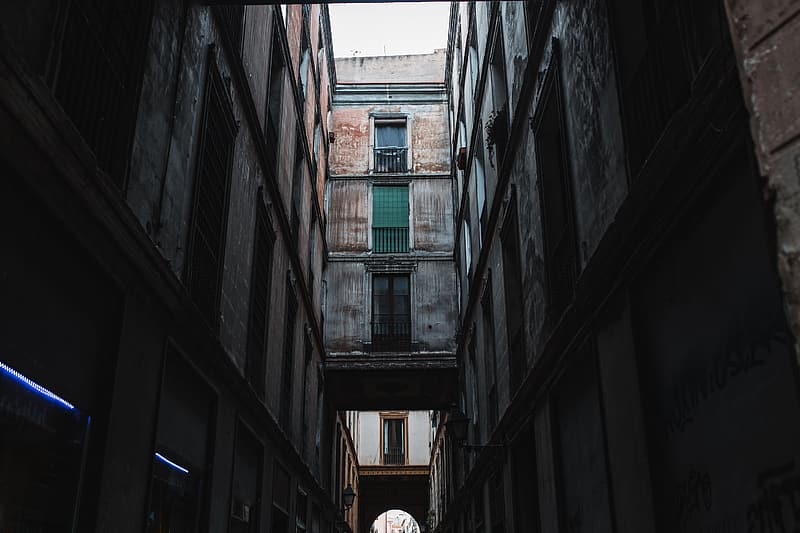 Townhouses in Barcelona, Spain