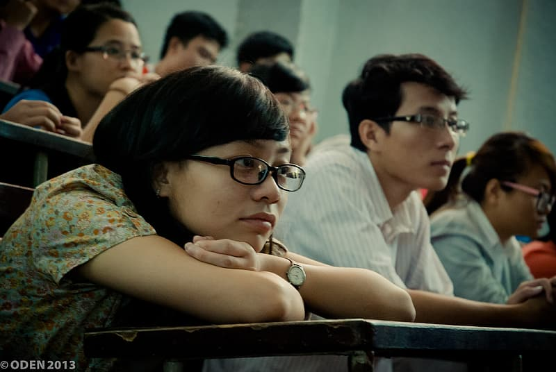 Group of student inside class