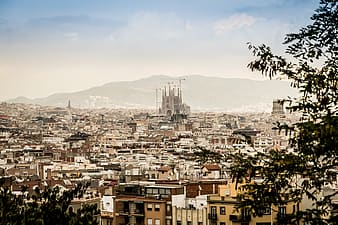 Architectural photography of Sagrada Familia, Barcelona