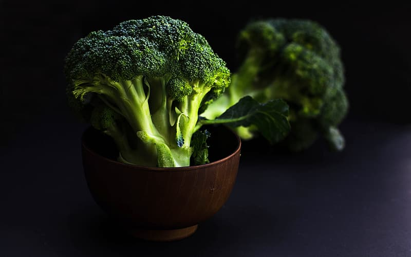 Bowl of broccoli