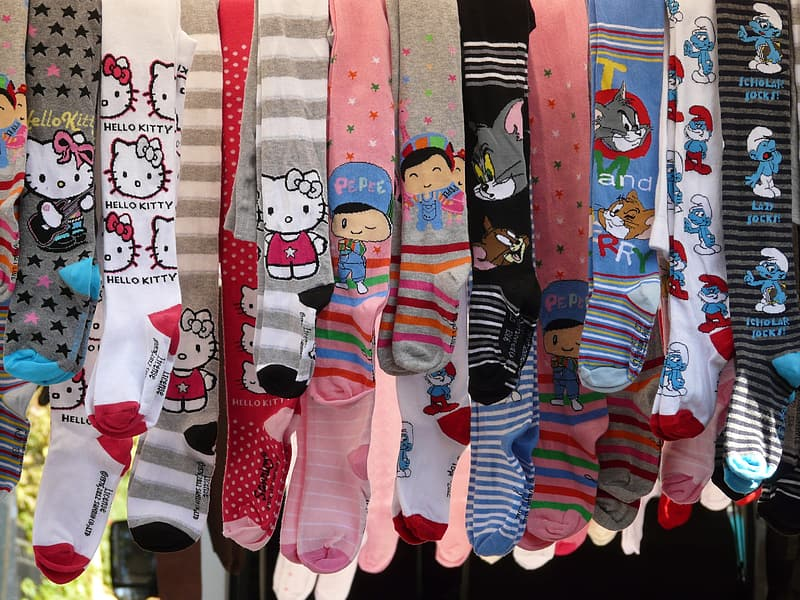 Assorted-pair and color of socks