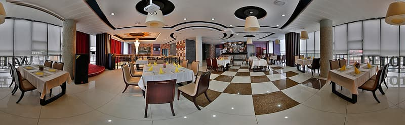 Panorama Of The Landscape, Restaurant