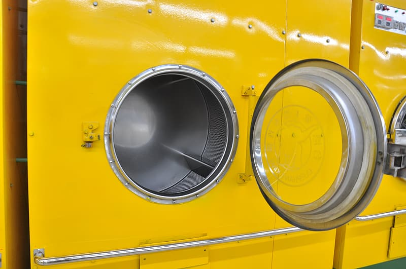 Yellow Front Load Washer Pikrepo