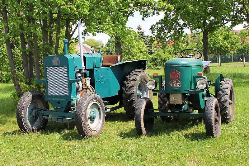 Agricultural Tractor, Tractors